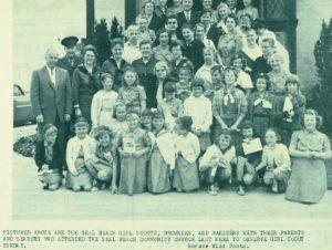 Vintage Girls Scouts Brownies Mariners